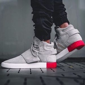 Adidas Tubular Invader Strap Sneakers Suede